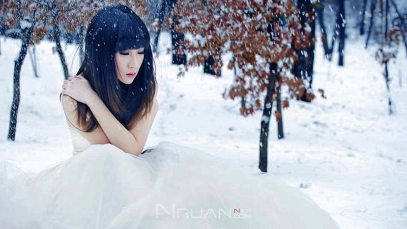 冬日斜阳浅浅 风雪婆娑 你是我最初の奇迹 纯音乐的照片 - 1