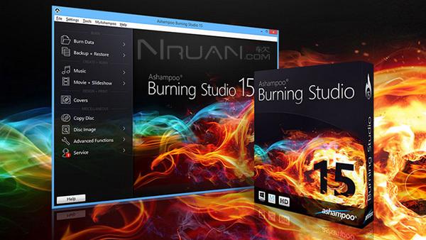 阿香婆刻录软件下载|Ashampoo Burning Studio 15.0.0特别版