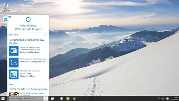 Windows 10 透明界面确认将回归的照片