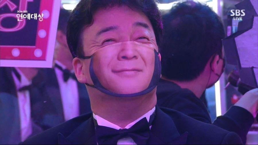 2020年SBS演艺大赏落幕,防疫措施获网友大赞,金钟国拿下最大奖插图1
