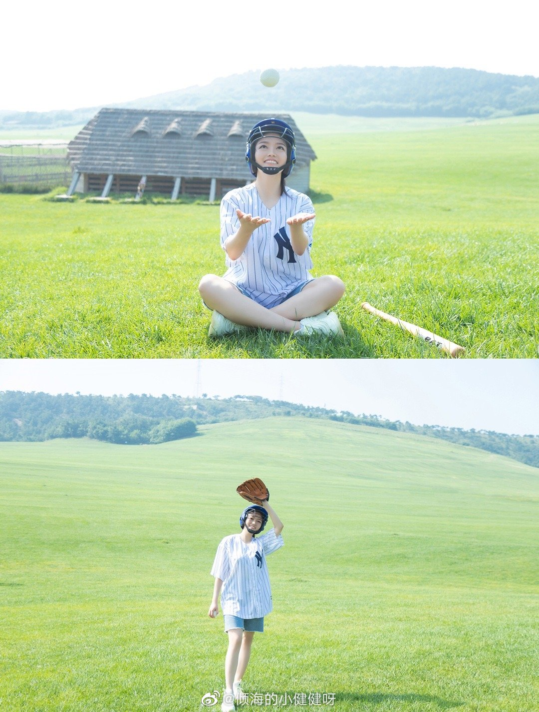 公主日记☘️棒球少女——牧场客照分享...美女