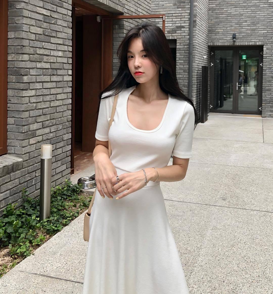 韩国内衣老板娘강혜지火辣示范内衣款式 宅男吧 热图4