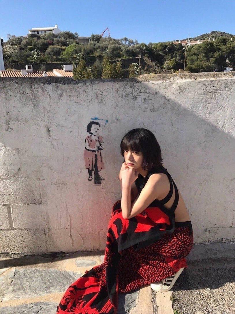 日本新一代G混血女神池田依来沙西班牙旅拍 网络美女 第4张