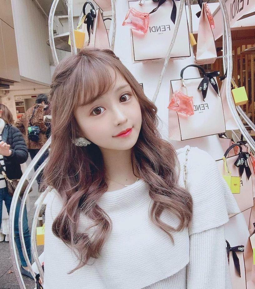 日本樱花妹Bunny可爱的颜值根本就是漫画中的洋娃娃 妹子图 热图2