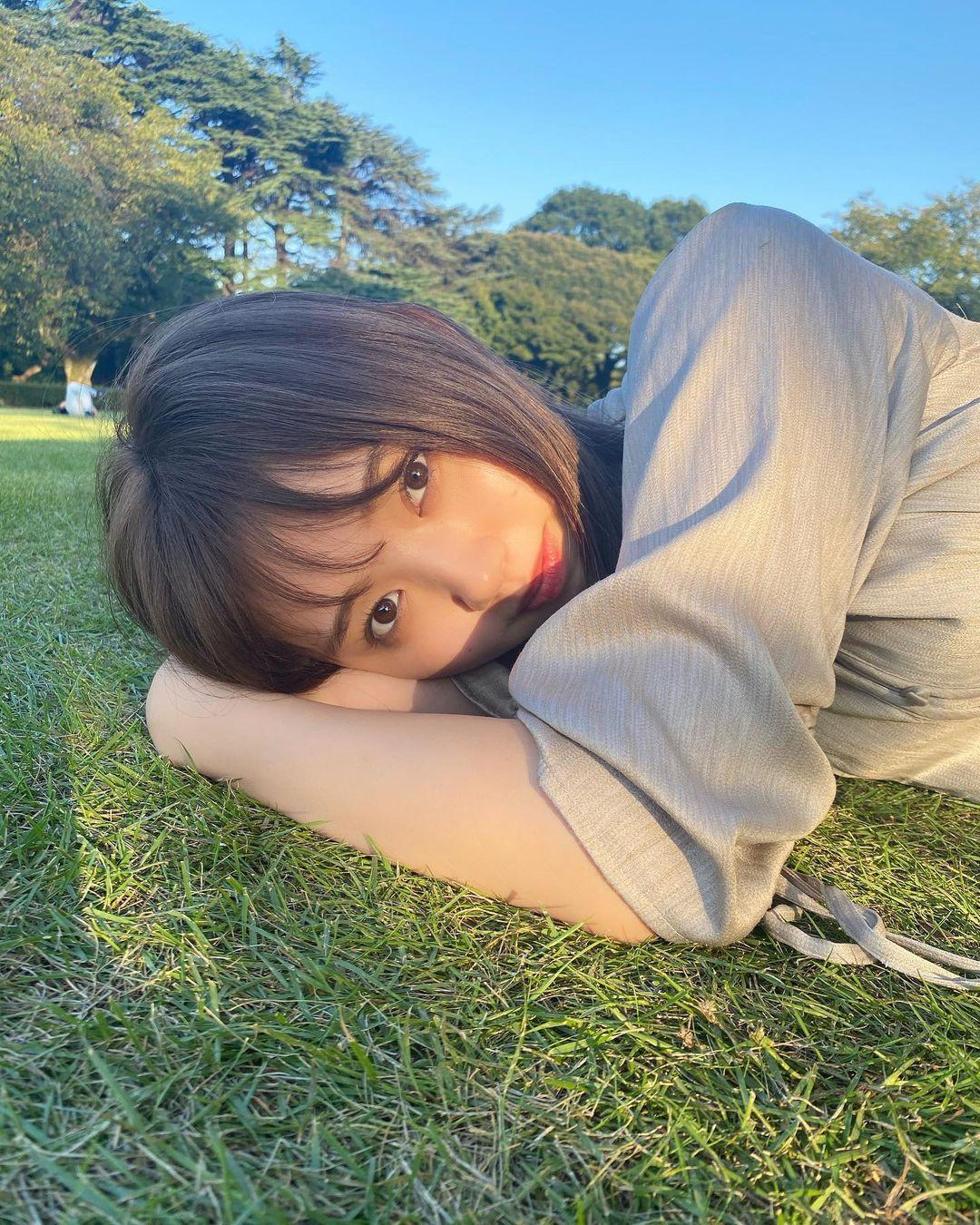 史上最可爱国中生江野沢爱美长大了.不只甜美笑容依旧,空灵气质更是疗愈人心 网络美女 第31张