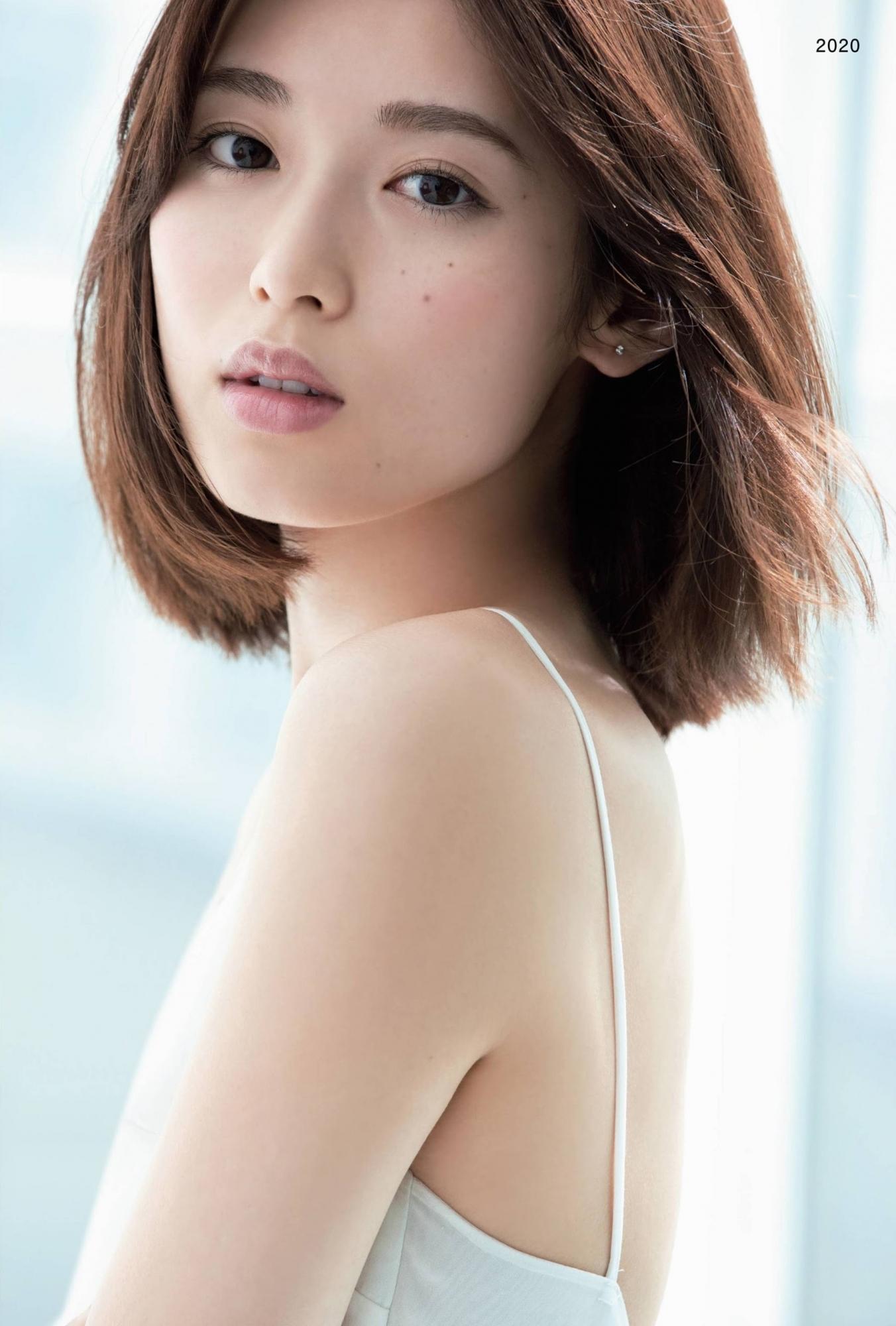 透明感十足空灵气场美少女「白石圣」,新生代纯爱系女演员-新图包