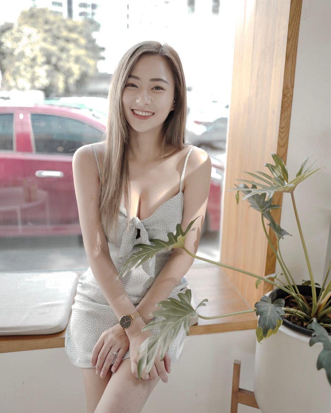 图片[10]-泰国也有天菜!清新神正「邻家美少女」,笑容甜美还有超纤细美腿!-福利巴士