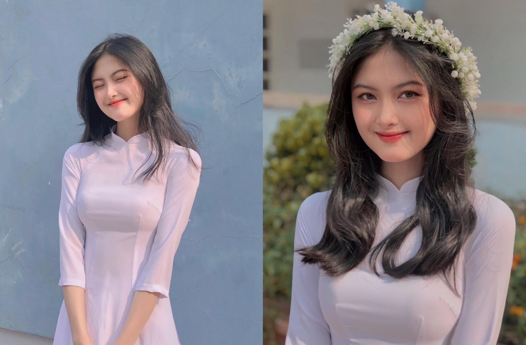 [人物]清纯越南妹子「Leely」辣穿奥黛,让人不被她掳获都不行啊. 养眼图片 第1张