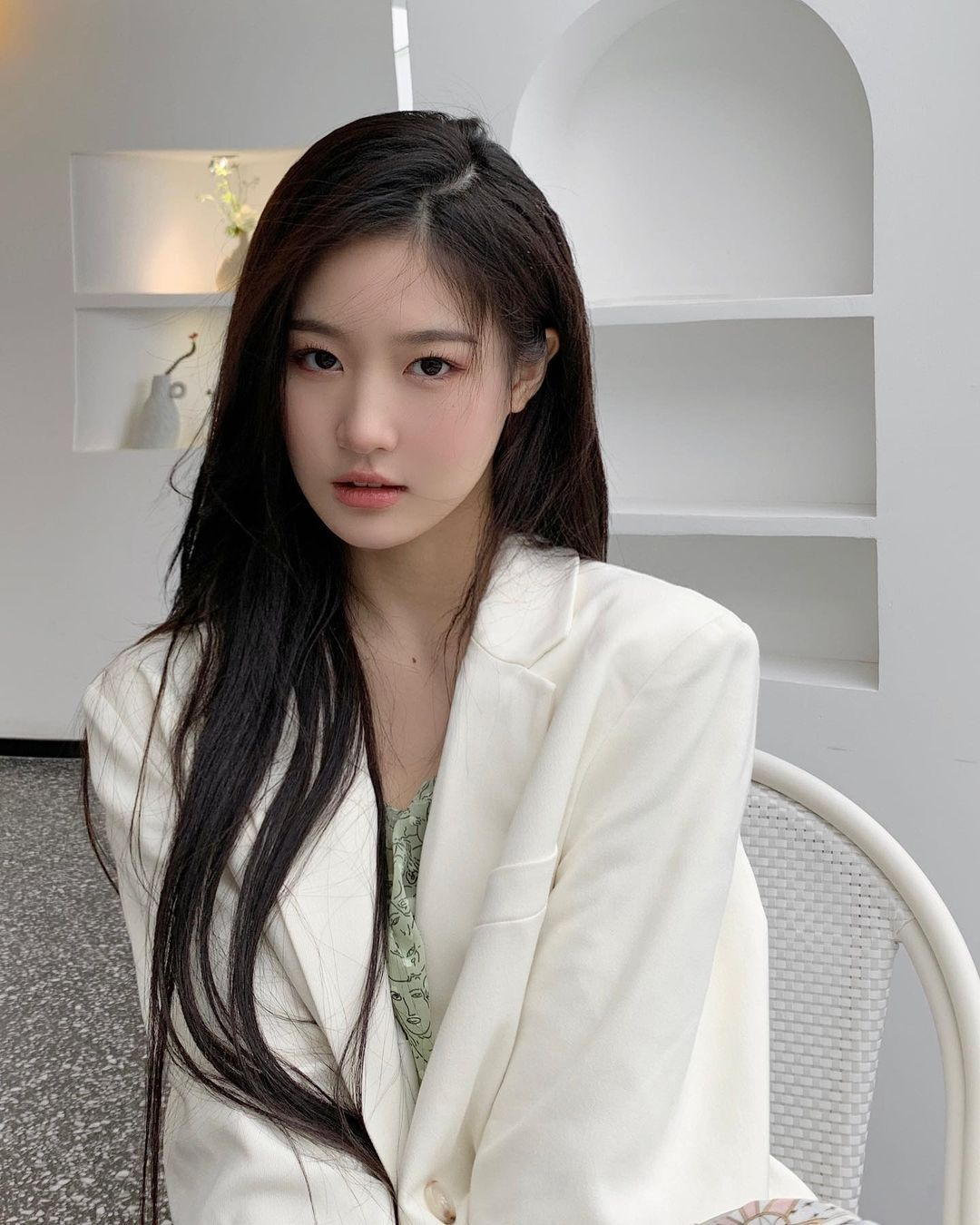 她是刘亦菲+全智贤的结合体 颜值太惊艳了 林真