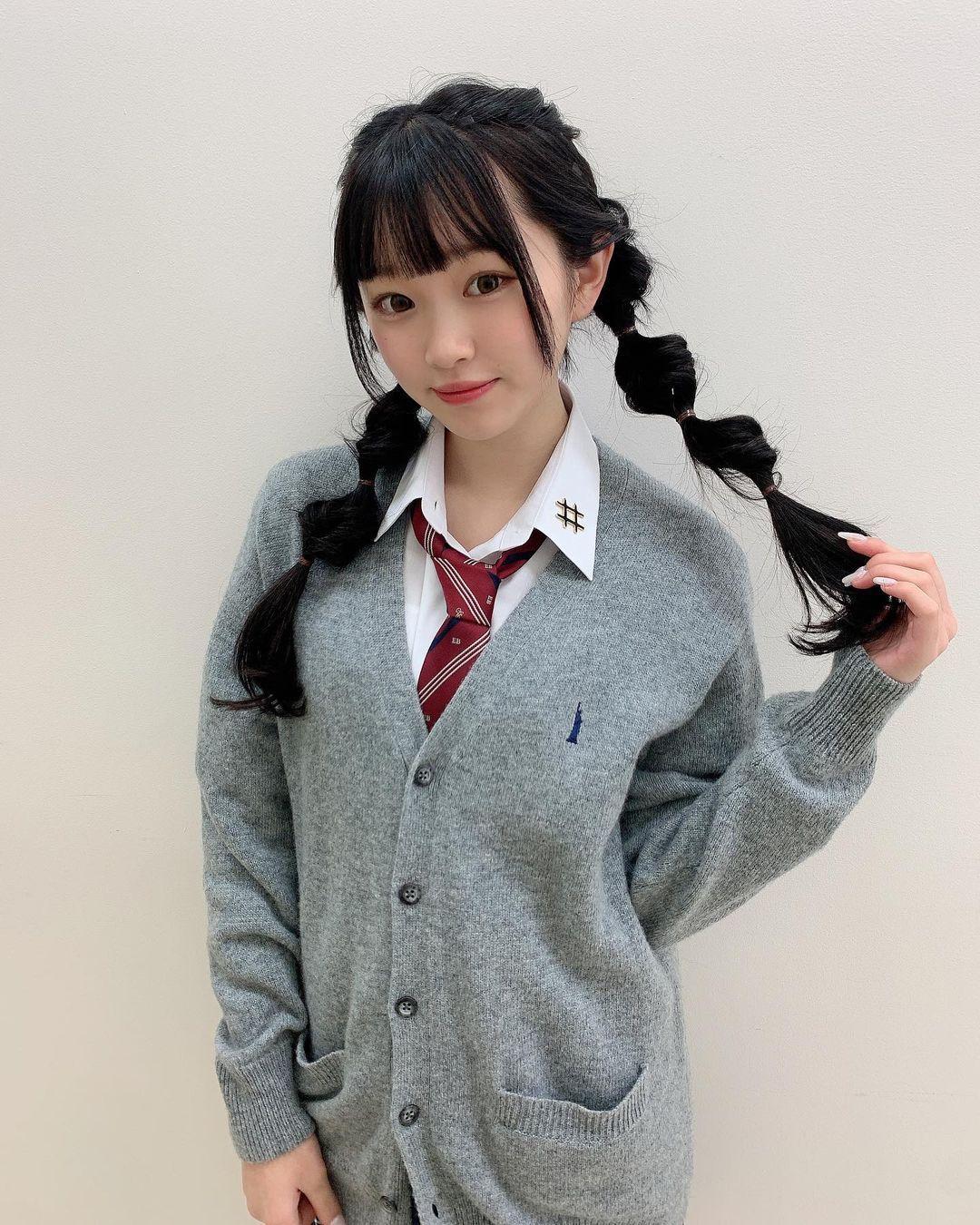 2005 年出生清新美少女平野梦来首度放风吸万粉 网络美女 第6张