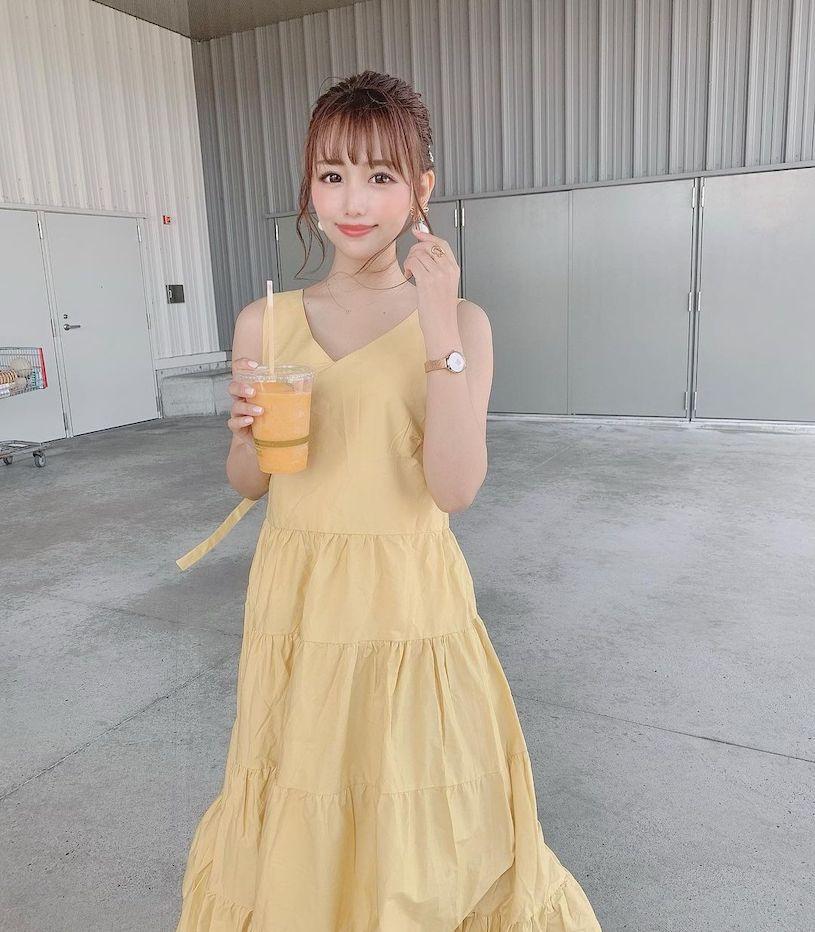 名古屋小只马V字洋装好性感,超可爱容颜看了好爱 网络美女 第13张
