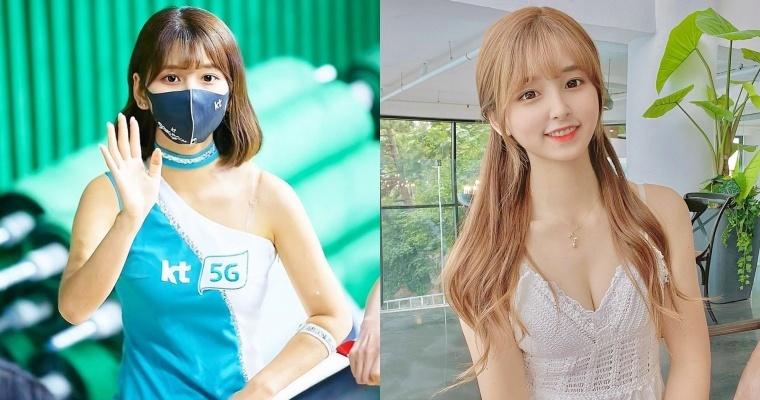韩国啦啦女神「李河润」公开活动,因疫情大减转拍抖音照吸人气