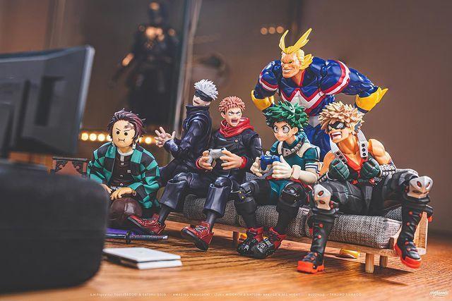 超有梗「玩具摄影」!《当模型们同在一起》在桌面上擦出各种爆笑火花!-itotii