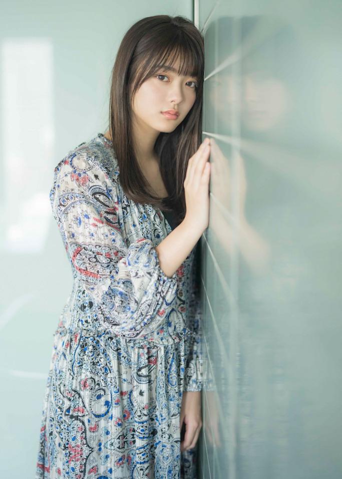 最想和她交往樱坂46田村保乃甜甜女友力让人心动水汪无辜双眼透明感十足 养眼图片 第7张