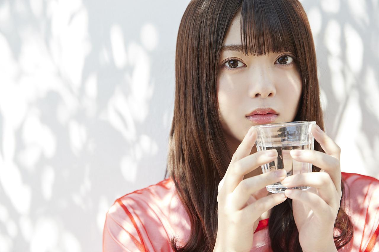 最想和她交往樱坂46田村保乃甜甜女友力让人心动水汪无辜双眼透明感十足 养眼图片 第14张