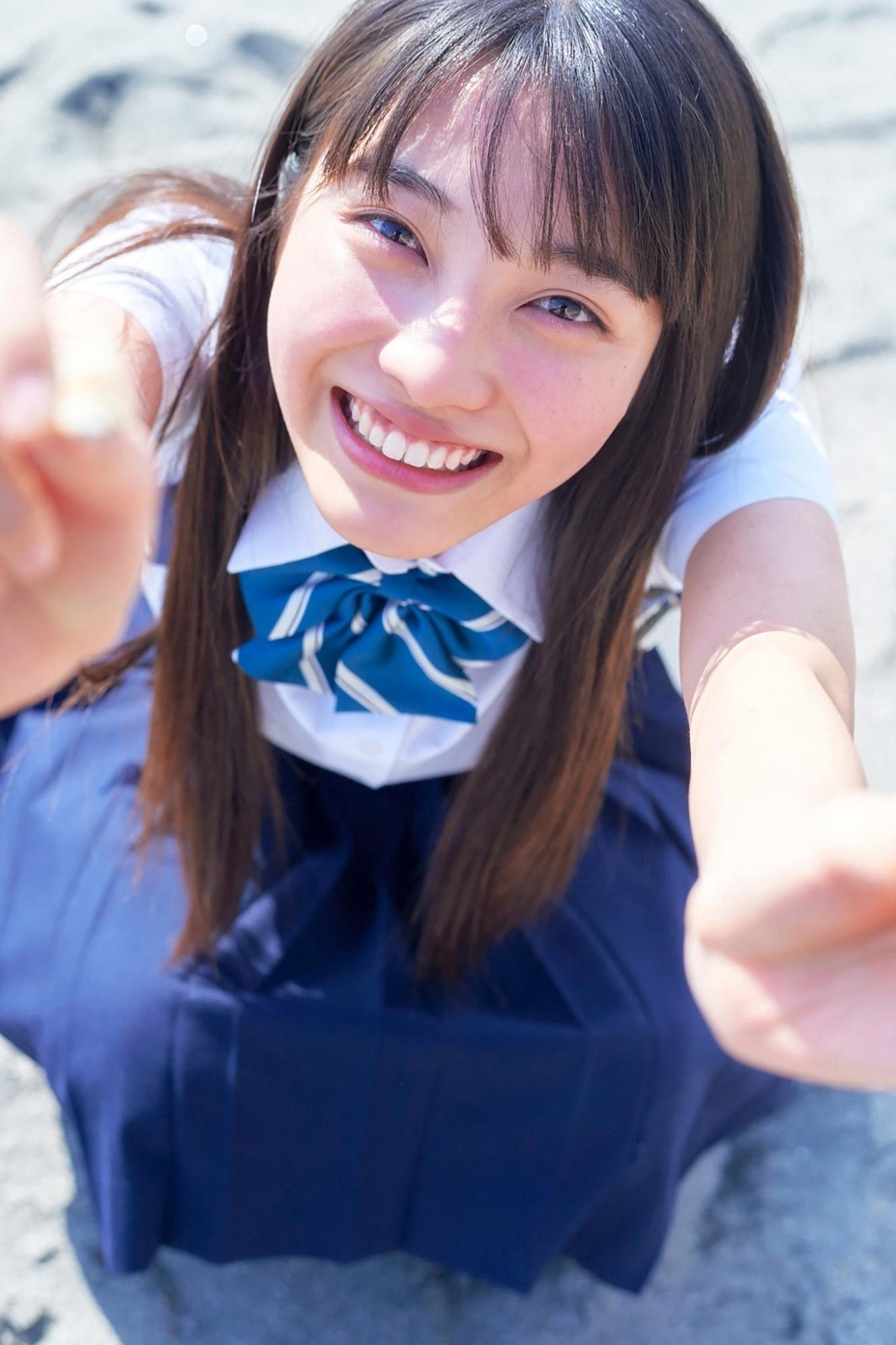 2021年最强写真新人 福田ルミカ 被称为地表最可爱高中生