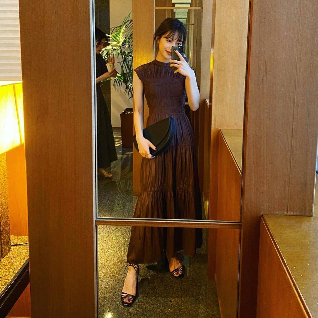 东京私立名校毕业的美女时装设计师日本妹子的清新甜美气质真的好可爱 养眼图片 第8张