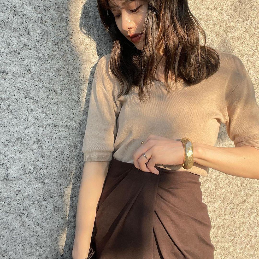 东京私立名校毕业的美女时装设计师日本妹子的清新甜美气质真的好可爱 养眼图片 第9张