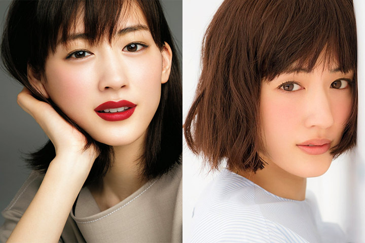 【写真】绫濑遥曾为主演日剧《继母与女儿的蓝调》于各大杂志拍摄美照合集-喵喵女