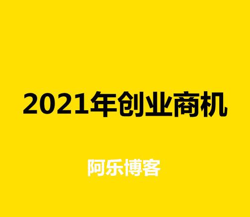 副业赚钱2021年创业商机的图片