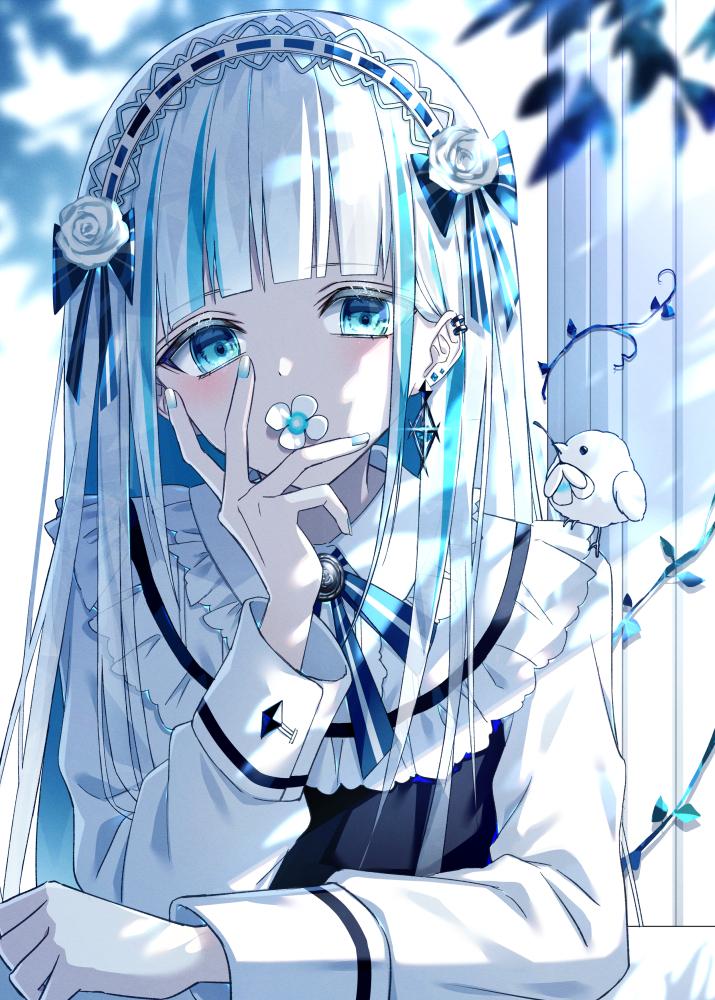 【P站画师】冷色系,喜欢吗?日本画师和音ハカ的插画作品- m.chinavegors.com