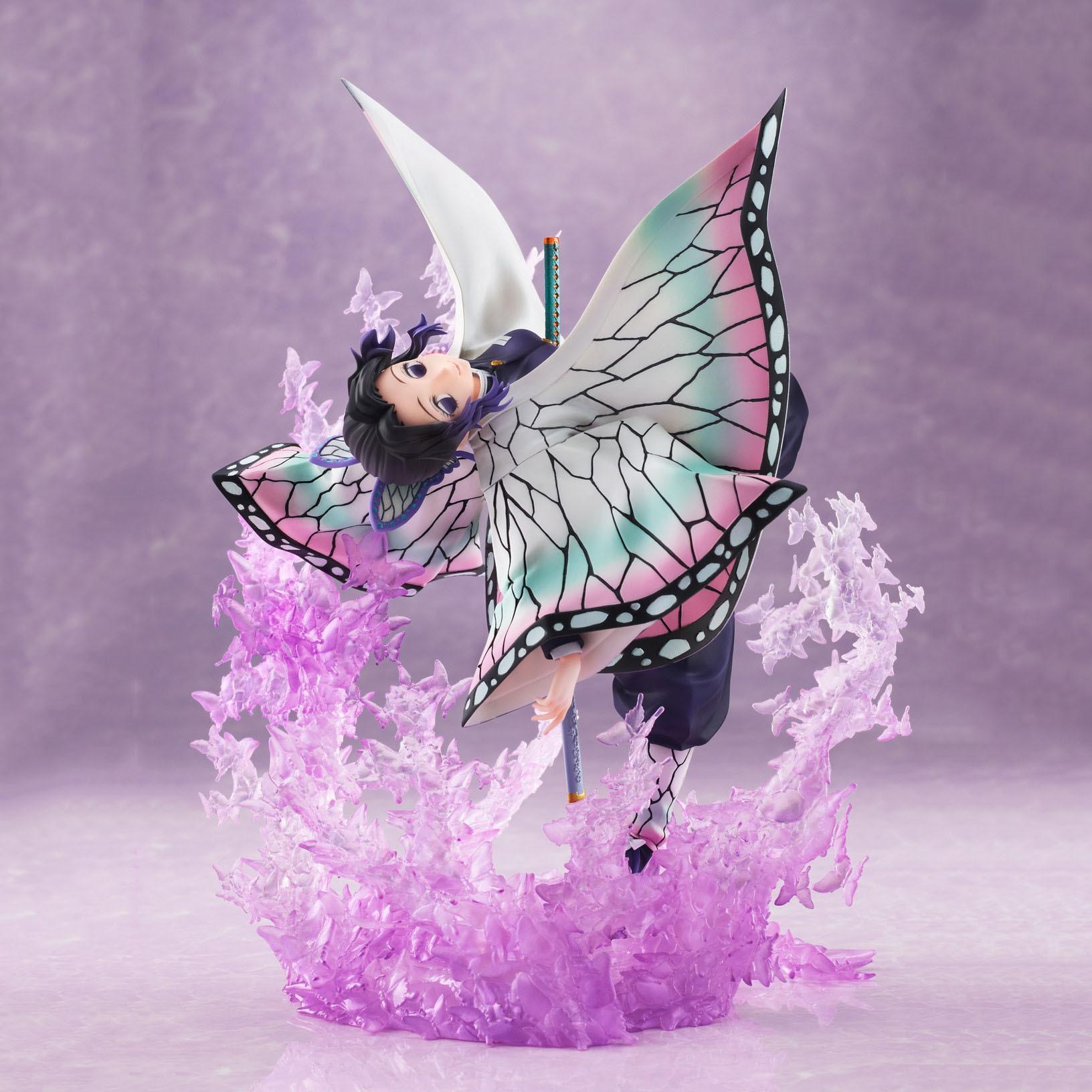 【手办模型】Aniplex《鬼灭之刃》蝴蝶忍 虫柱1/8比例手办详情