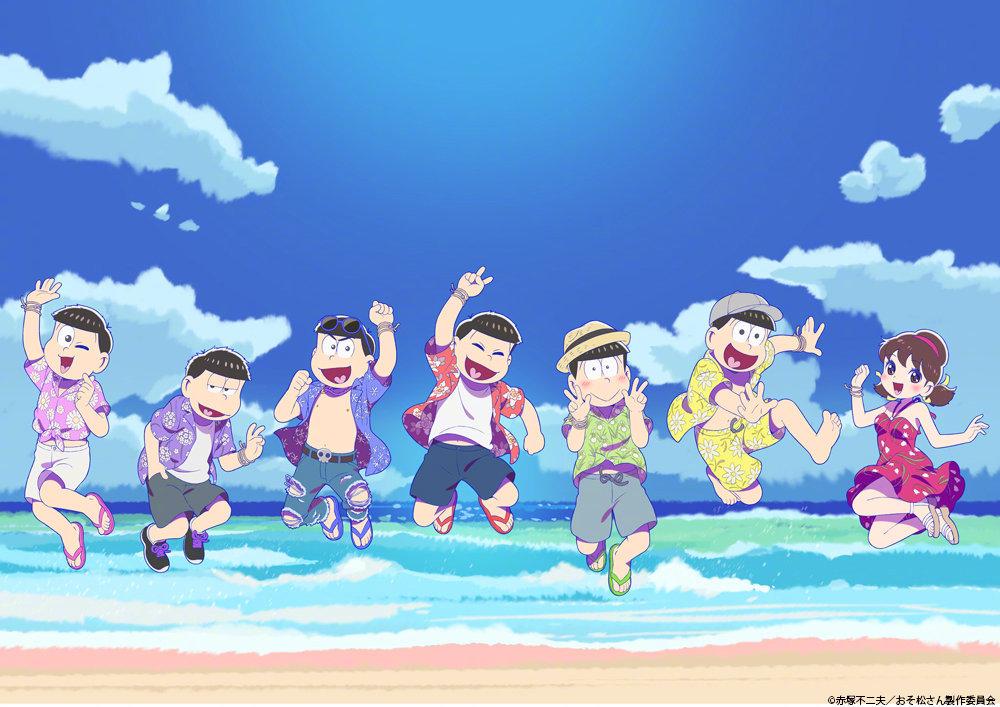 TV动画《阿松》第三季新视觉图公开,10月12日开播-
