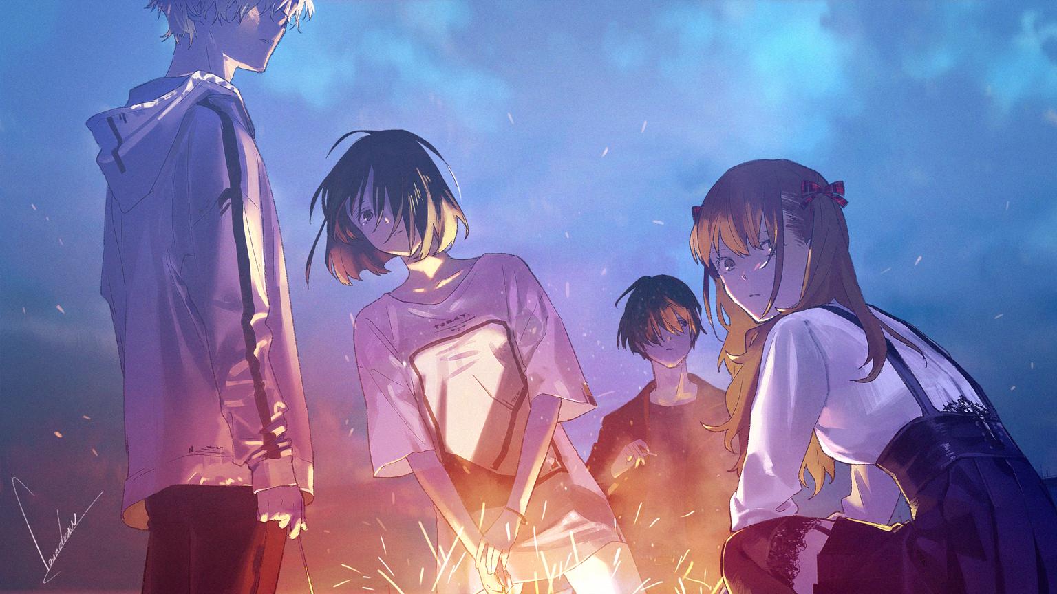 loundraw初监督作品,短篇动画电影《Summer Ghost》将于2021年上映- ACG17.COM