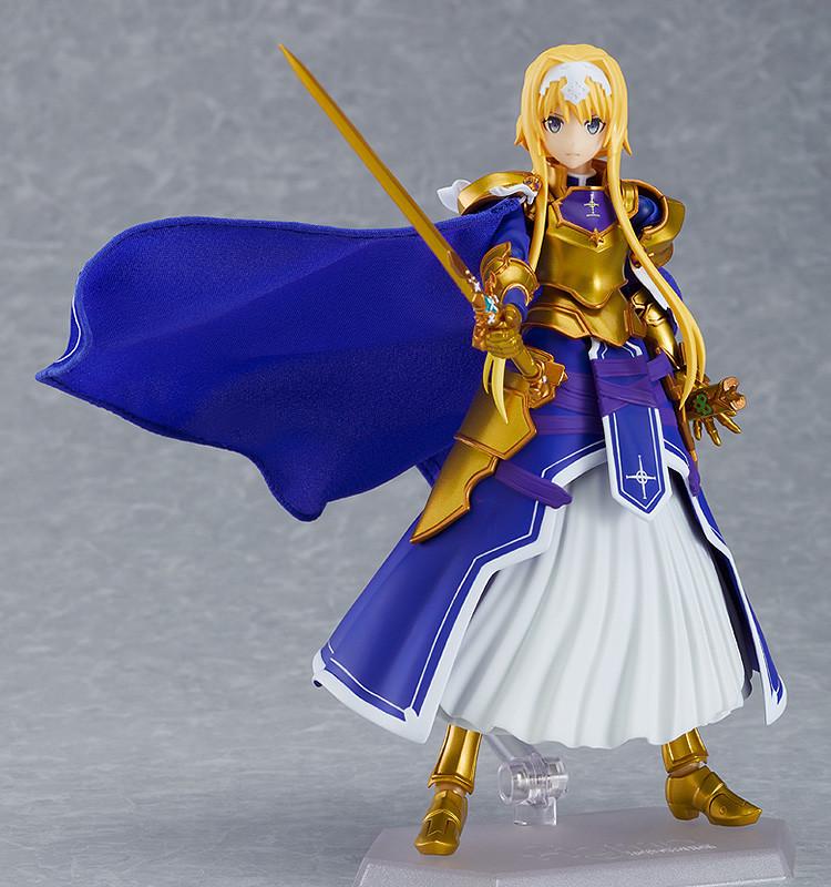 【手办发售】《刀剑神域 爱丽丝篇 异界战争》爱丽丝 figma可动手办
