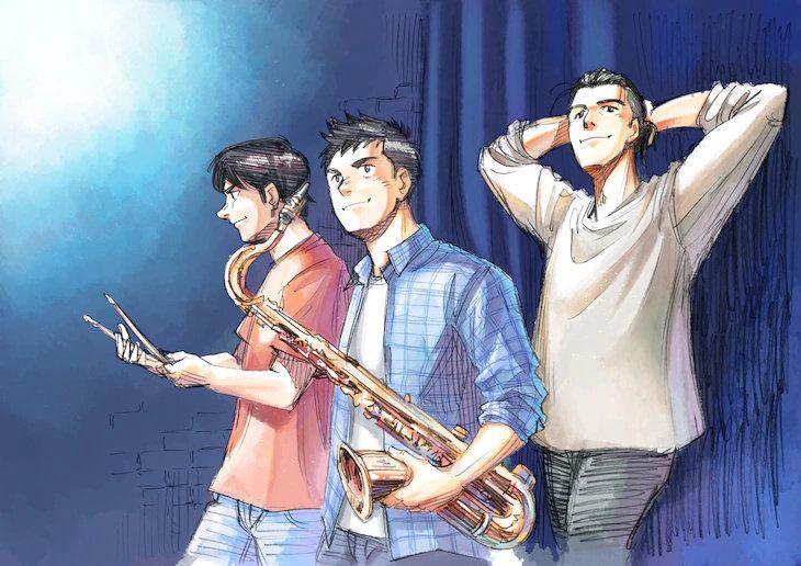 【情报】漫画《BLUE GIANT》剧场动画化决定,2022年在日本上映