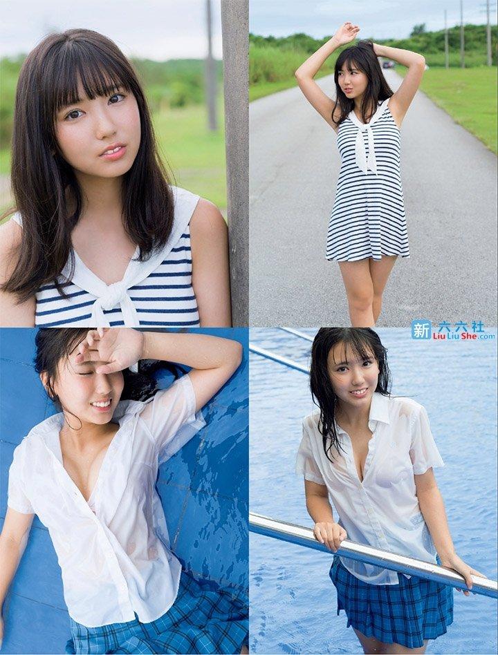 年仅16的「泽口爱华」就拥有完美童颜和极品欧派