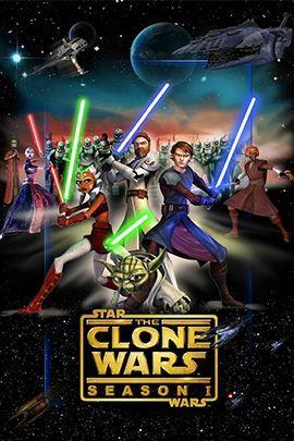 星球大战:克隆人战争 第一季的海报
