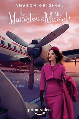 了不起的麦瑟尔夫人 第三季的海报