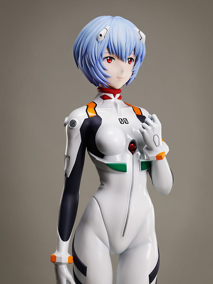 绫波丽 新世纪福音战士 等身模型_02
