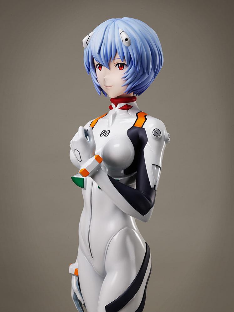 绫波丽 新世纪福音战士 等身模型_03