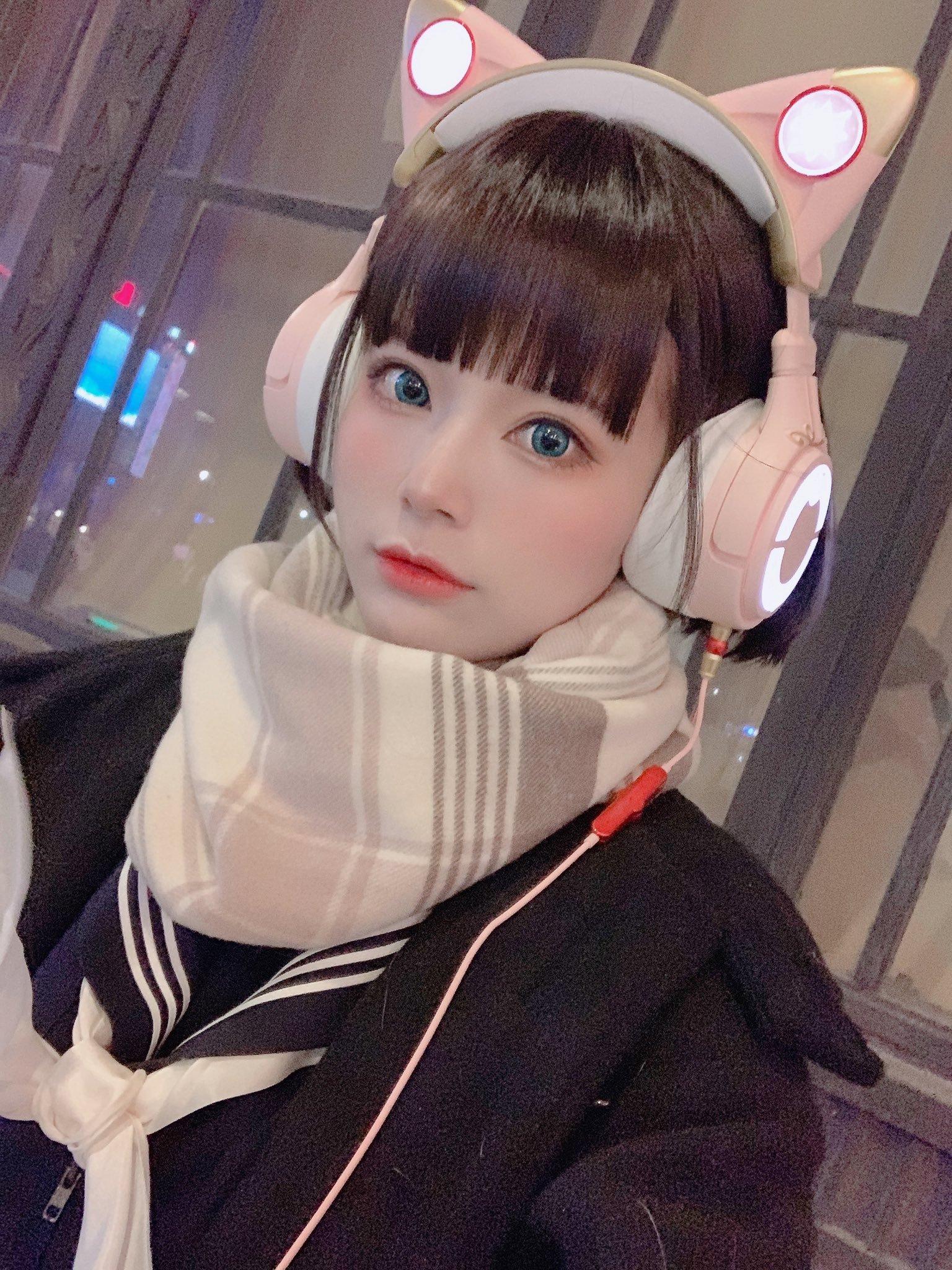 水着金发萝莉 猫耳耳机少女-COS精选二百一十九弹 动漫漫画 第25张