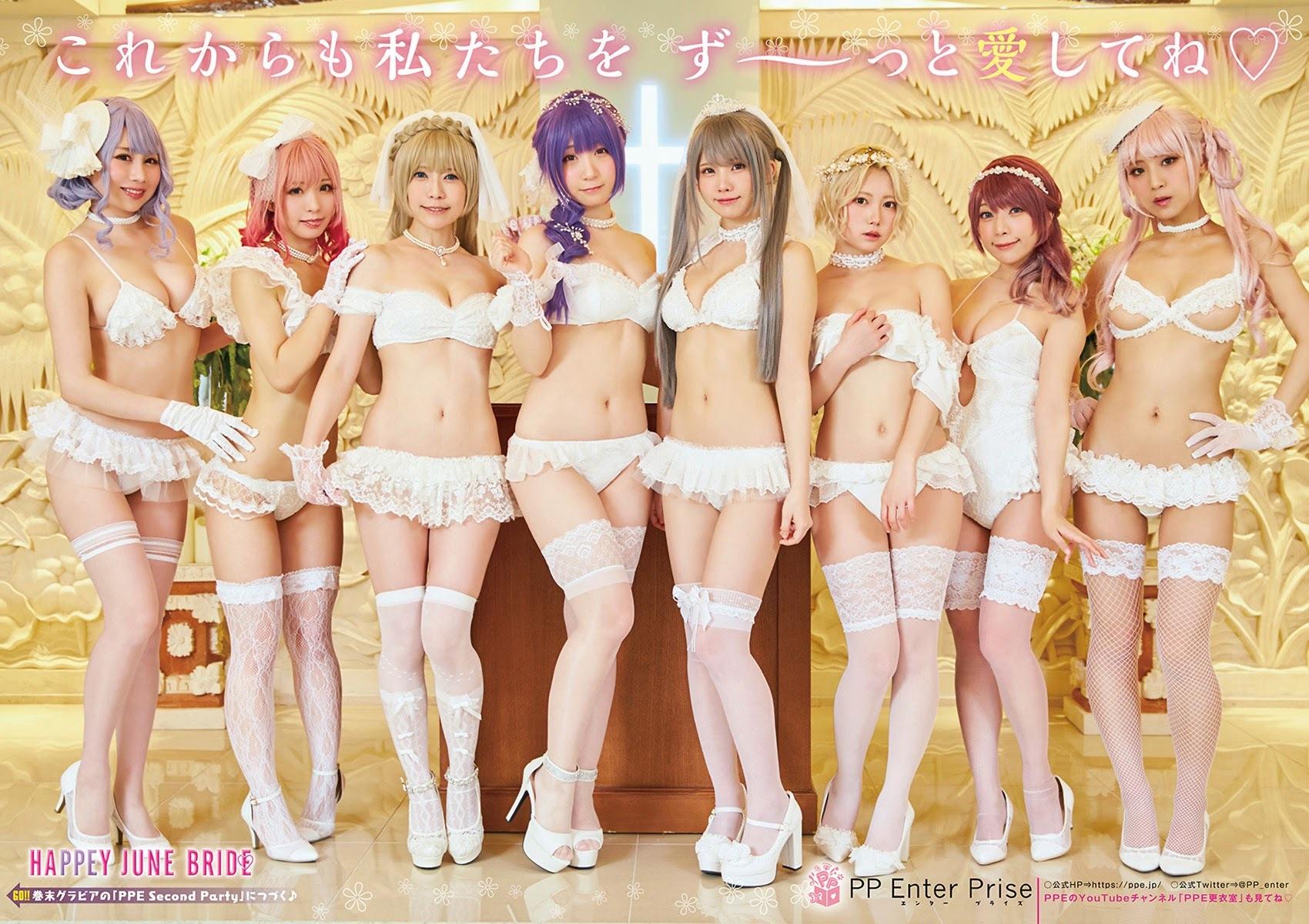 enako 伊织萌 &PPE姑娘们-YOUNG ANIMAL 2021年第十三期  高清套图 第1张