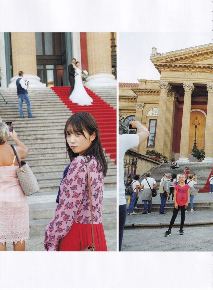 与田祐希2nd写真集《無口な時間》西西里岛与米兰
