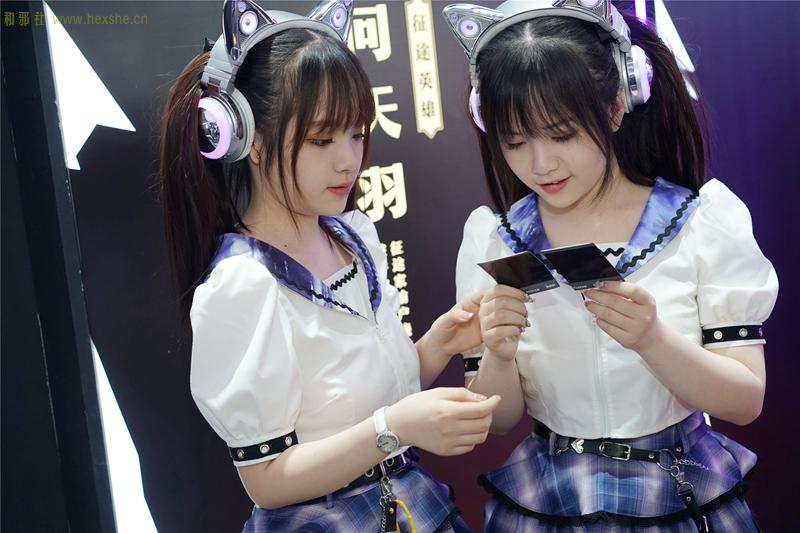 ChinaJoy惟妙惟肖双胞胎_和邪社16