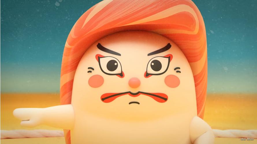 动画《寿司大相扑》将寿司和相扑有机结合在一起 (2)