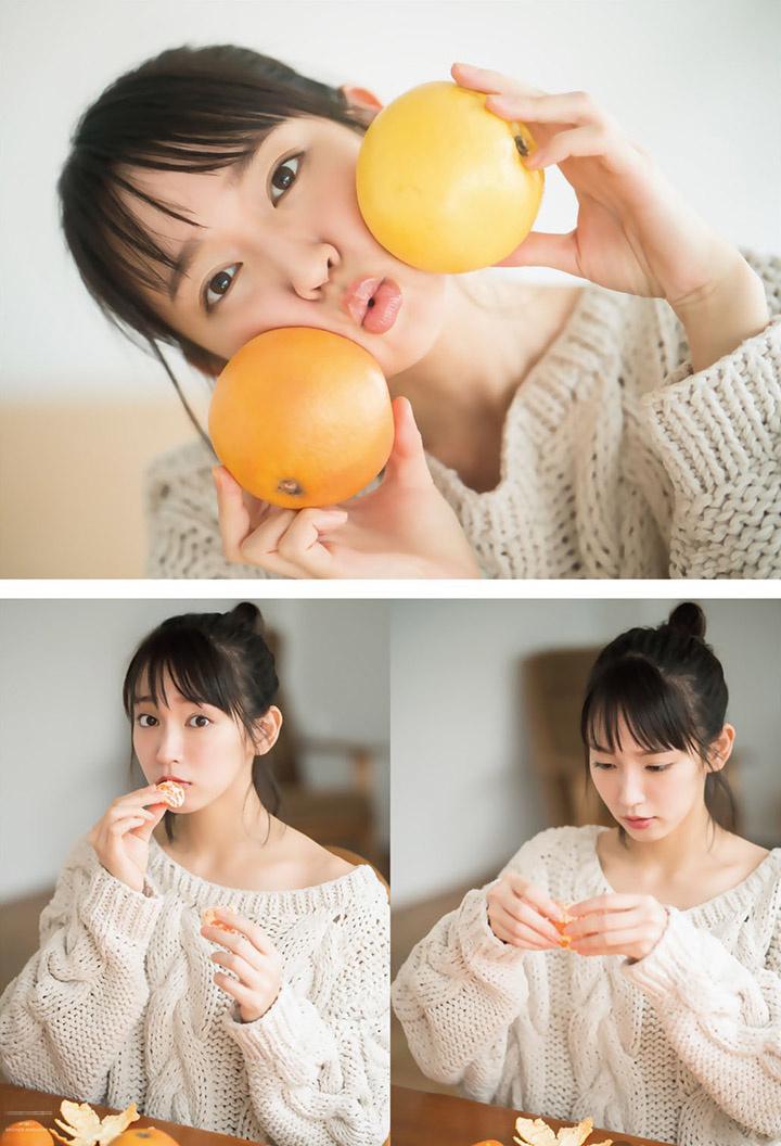 吉冈里帆不断以微性感写真作品协助宣传自己的演艺事业 (22)