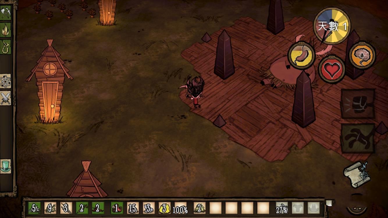 游戏《Don't Starve》在异世界中不断的冒险和探索才能获取生存材料活下去 (11)