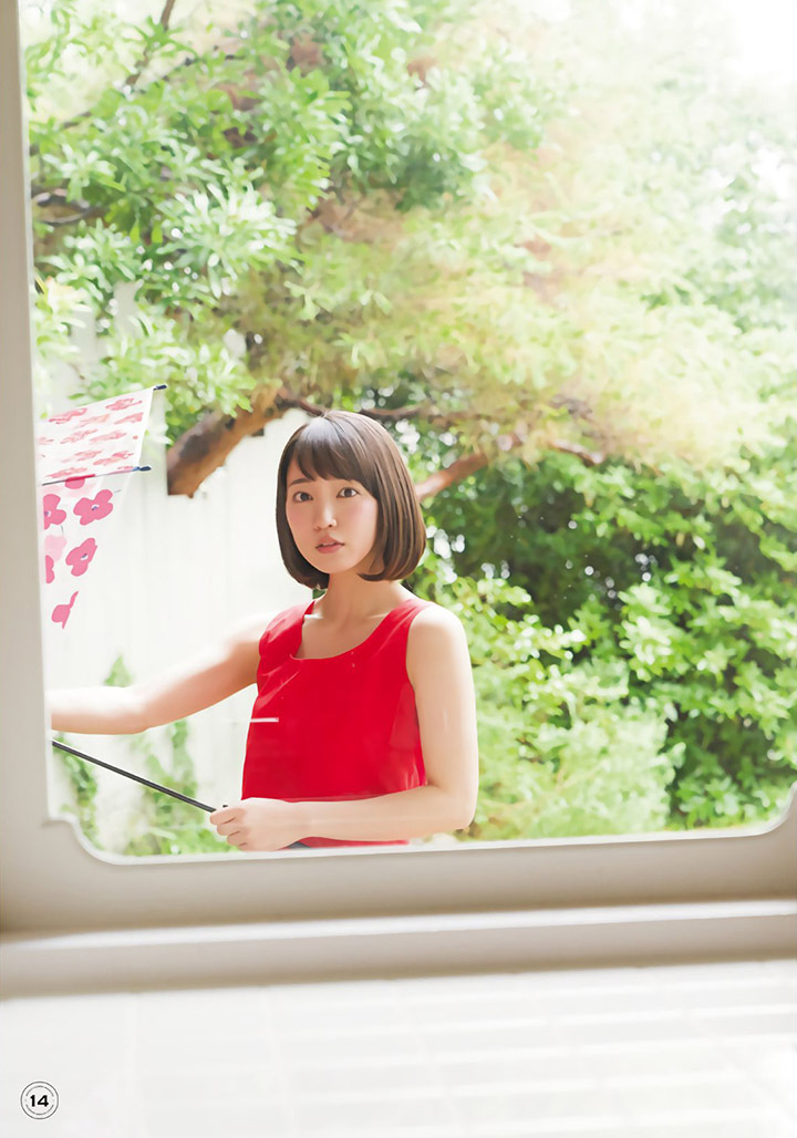 吉冈里帆再次出现在花花公子时尚杂志彰显自己性感可爱的写真作品 (33)