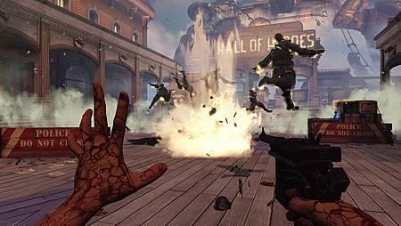 游戏《生化奇兵:无限之城》开发版试玩最为真实的一线报道 (9)