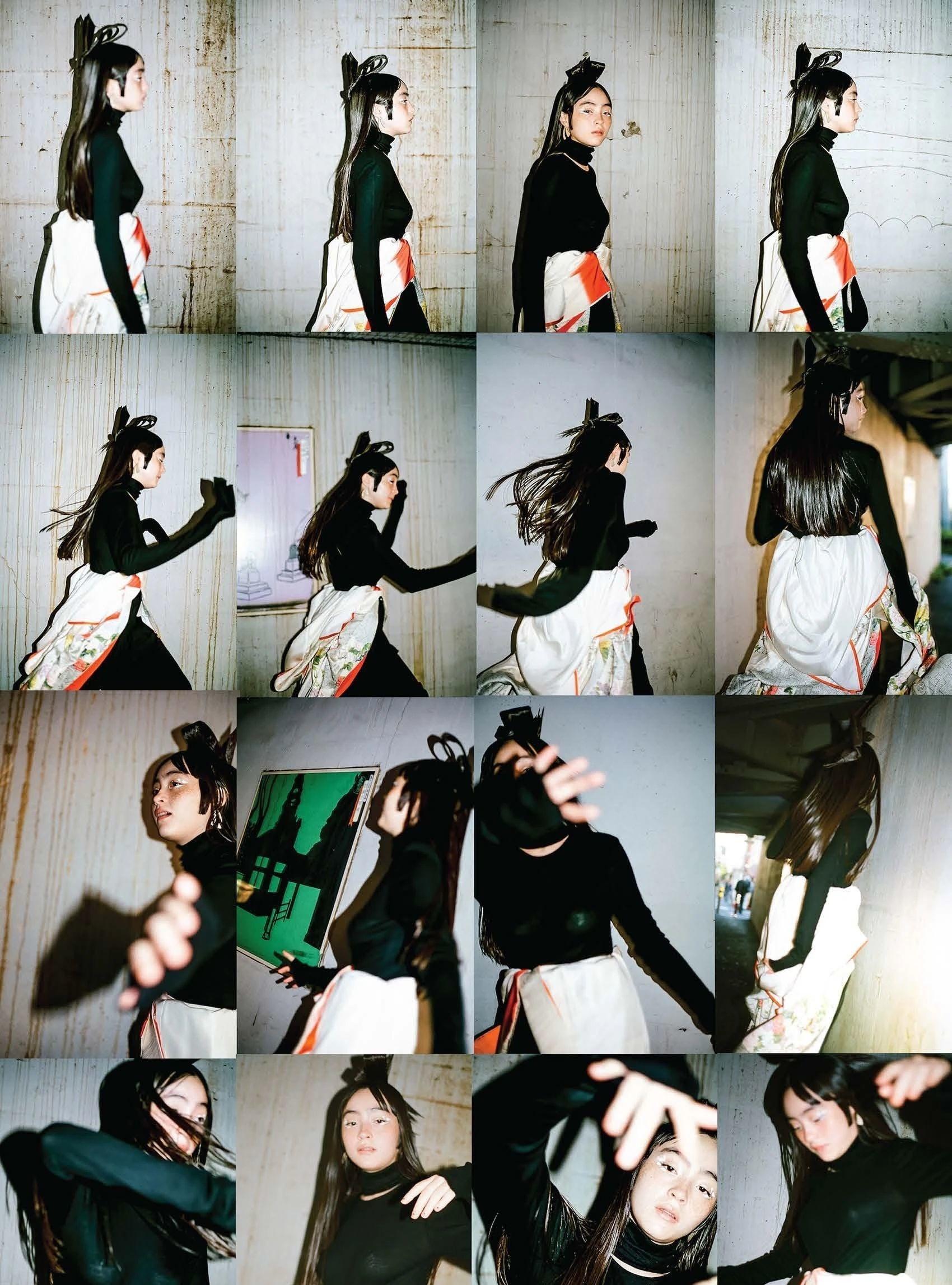 满脸雀斑却依旧很美的混血模特世理奈写真作品 (36)