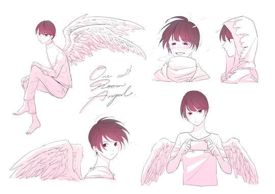 BL漫画《单人房的天使》偶遇天使开启第二人生才知道人生没有回头路 (2)