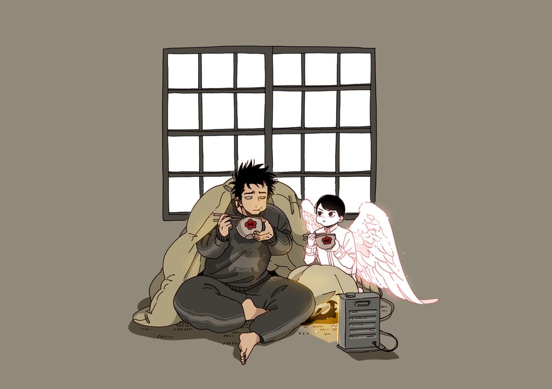 BL漫画《单人房的天使》偶遇天使开启第二人生才知道人生没有回头路 (4)