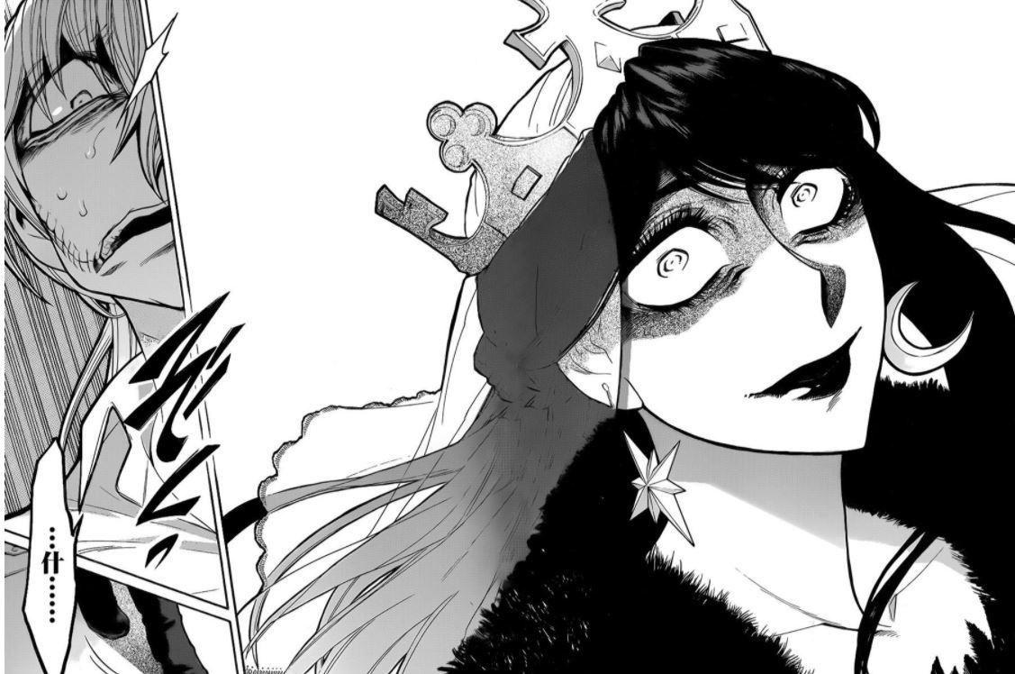 漫画《累》丑女换脸之后的华丽且罪恶的不同人生 (4)