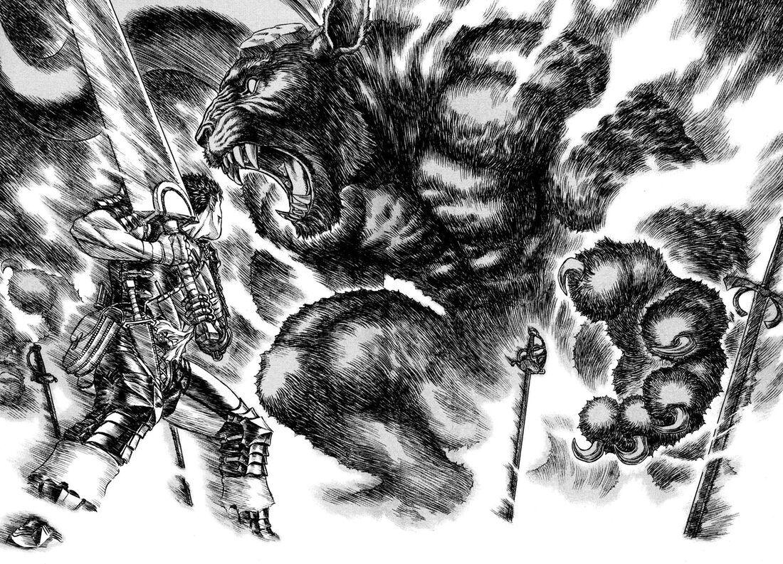 漫画《烙印勇士》大剑黑战士永无止境的复仇剧 (7)