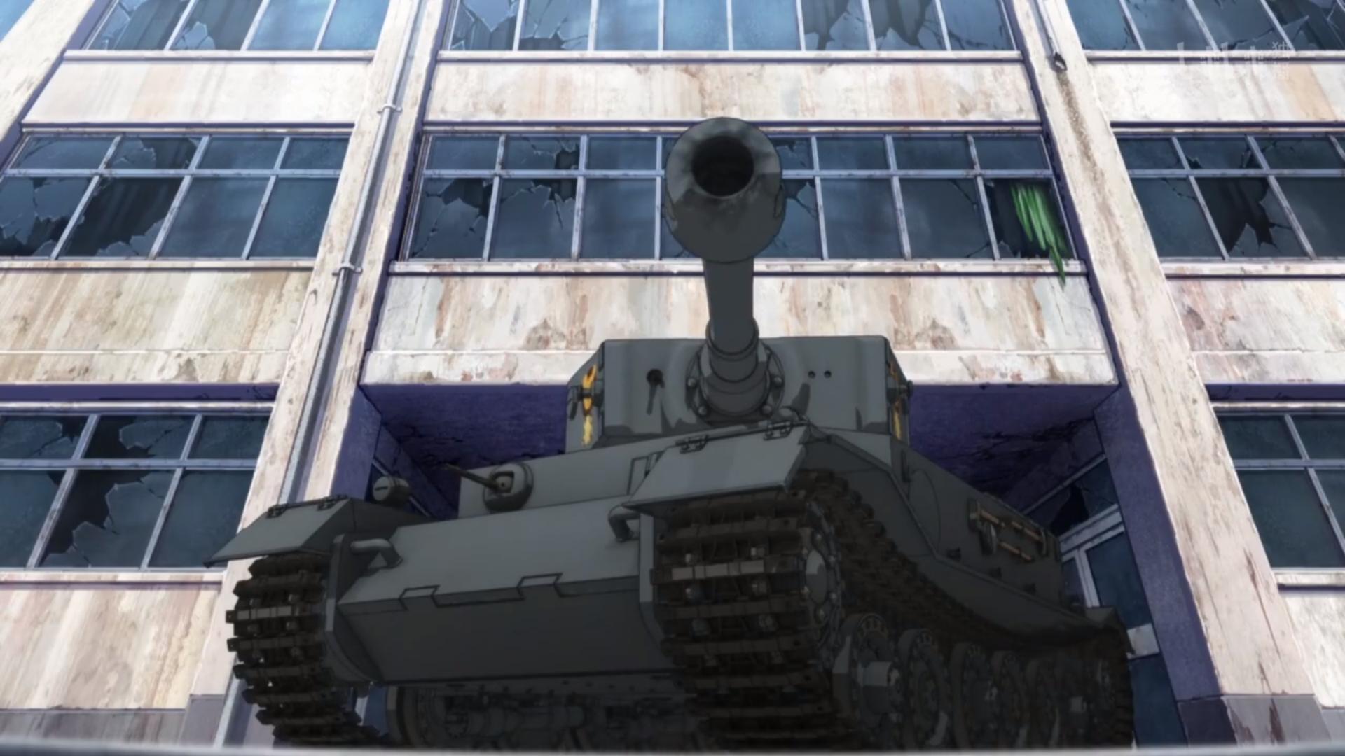 动画《少女与战车》可以全家观赏的轻松愉快的战车对战 (11)